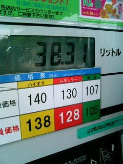 ガソリン値下か!?