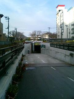 秋田中央道路シールドトンネル工事現場