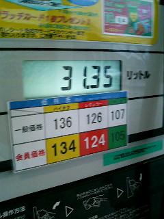 11/28時点のガソリン価格
