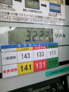 7/26ガソリン価格