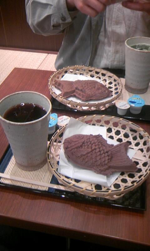 チョコバナナ鯛焼き
